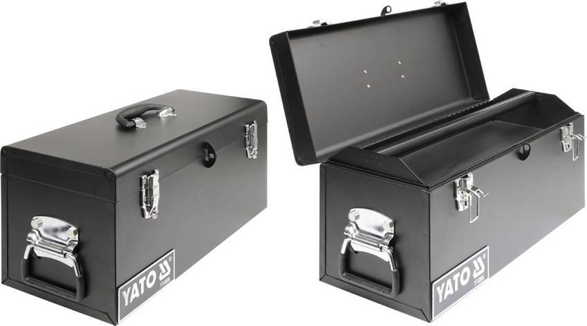Металлический ящик для инструментов YATO YT-0886, фото 2