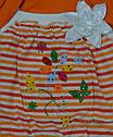 Комплект для девочки Изабелла оранжевый (Petito Club, Турция), фото 4