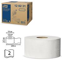Туалетная бумага джамбо TORK Advanced  в мини рулонах мягкая