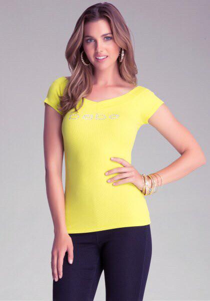 Женская футболка Bebe