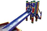 Горка Дюймовочкас песочницей детская игровая уличная