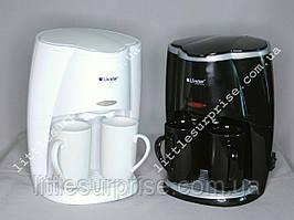 Кофеварка Livstar с чашками