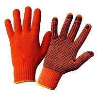 Перчатки с ПВХ точкой (Россия)
