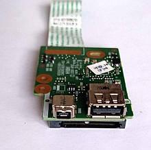 345 Кардридер + USB HP 6550b 6450b 6455b 6555b - 6050A2331801-CARDREADER-A02 DT10 6035B0062301