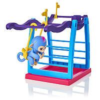 Ігровий набір WowWee Fingerling Playset - Monkey Liv Інтерактивна мавпочка Лів на качелі  (3731) (B06WRWXP8X)
