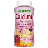 Жевательный кальций, Nature's Bounty, 60 таблеток