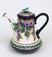 """Фарфоровый заварочный чайник """"Глициния"""" (Pavone) BS- 35"""
