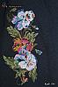 Женское синее вышитое платье Мила, фото 4