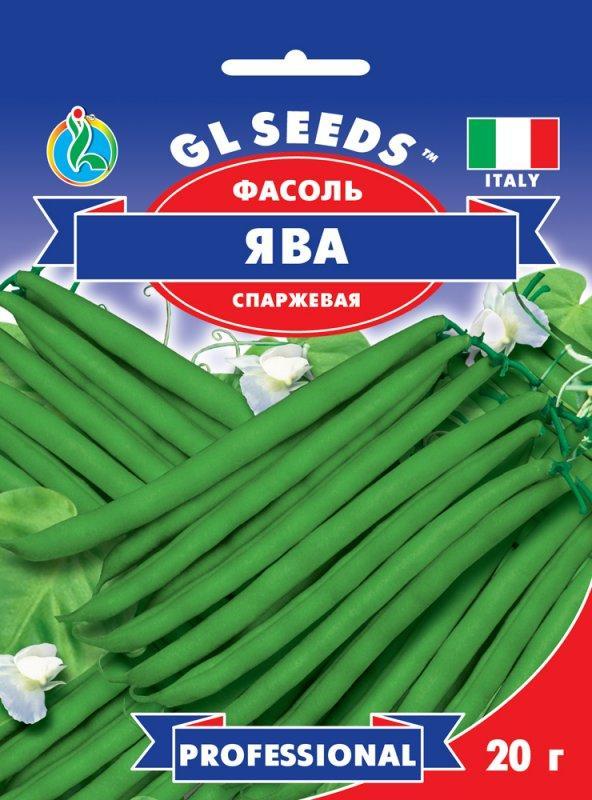 Фасоль Ява зеленая спаржевая, пакет 15г - Семена фасоли