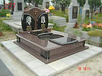 Памятник двойной из гранита токовский