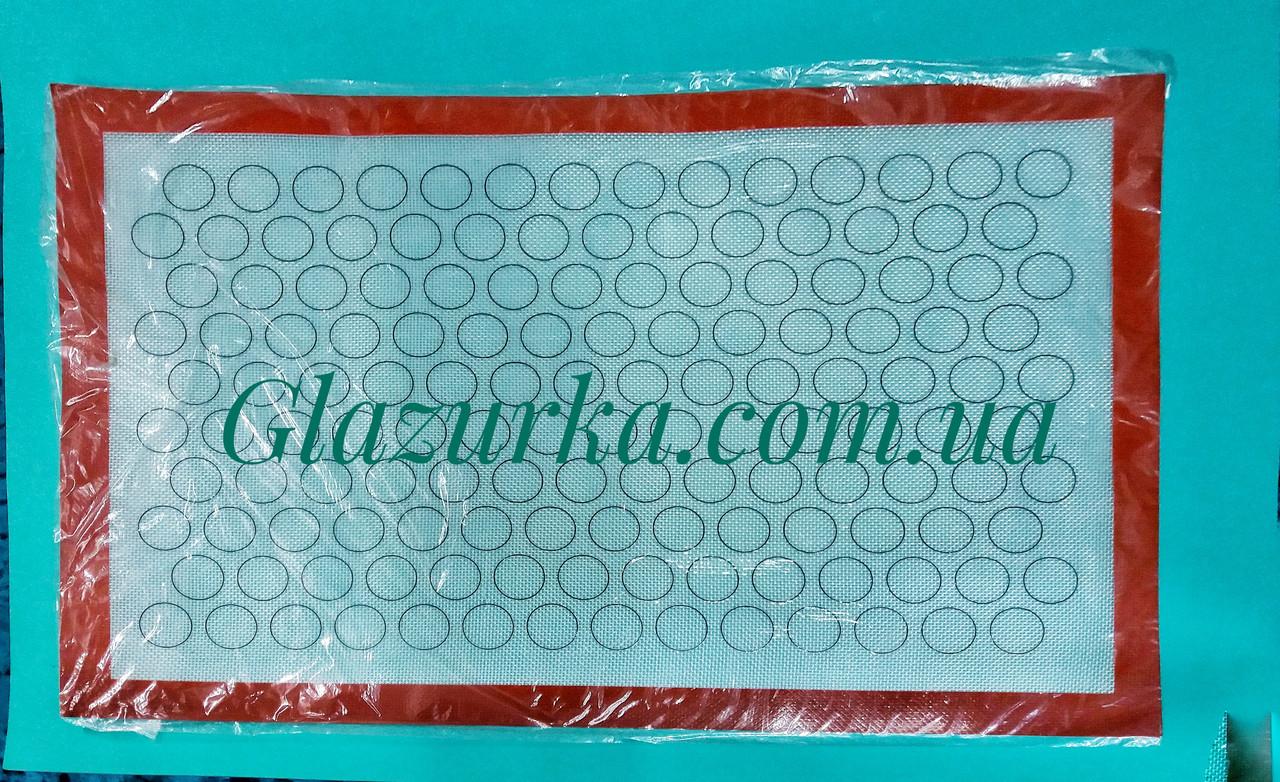 Силиконовый коврик для выпечки 60 х 40 см .