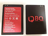 Оригинальный аккумулятор (АКБ, батарея) BQS-5520 Mercury для BQ BQS-5520 Mercury 3650mAh