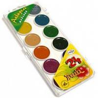 Краски акварель медовые Гамма-Рос Пчёлка 212035, 24 цвета, б/кист