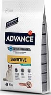 Сухой корм для кошек Advance Cat Sterilized Salmon Sensitive 10 кг. для стерилизованных котов и кошек