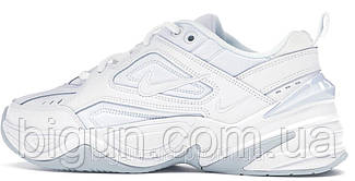 Мужские кроссовки Nike M2K Tekno White (найк м2к текно, белые)