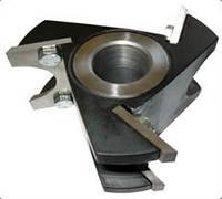 Фреза с механическим креплением ножей для изготовления штапа R16 и R20 (черенок сап и лопат)