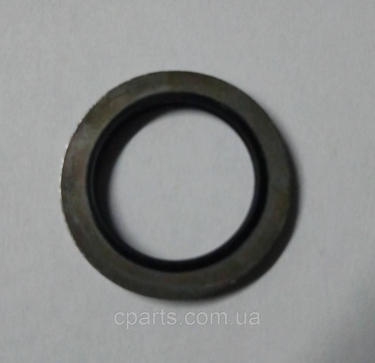 Кольцо прокладка масляной пробки Renault Dokker (Sasic 4001073)(высокое качество)
