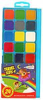 Краски акварельные ГАММА-Н Travel Kids 312082, 24 цвета, б/кист.