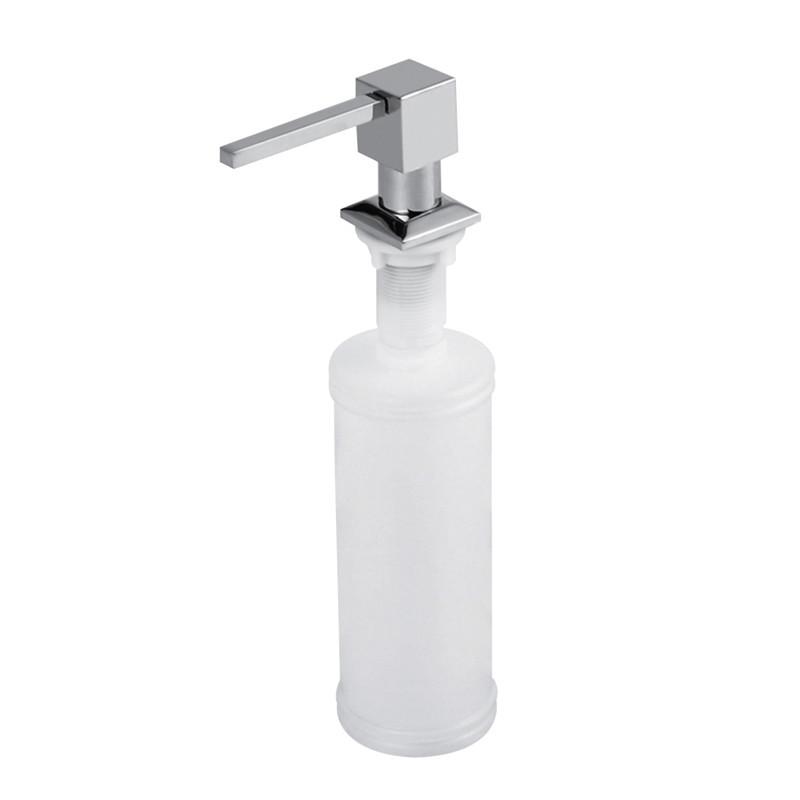 Дозатор для моющего средства или жидкого мыла Ula модель 205 квадрат