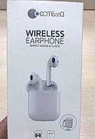 Bluetooth-наушники COTEetCI Air plus (White), фото 1