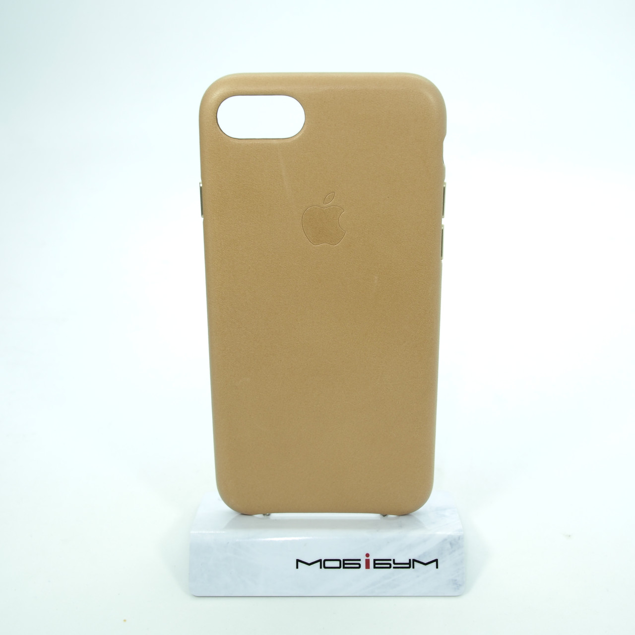"Чехол Apple iPhone 8/7 {4.7""} Leather Case tan (MMY72ZM/A)"