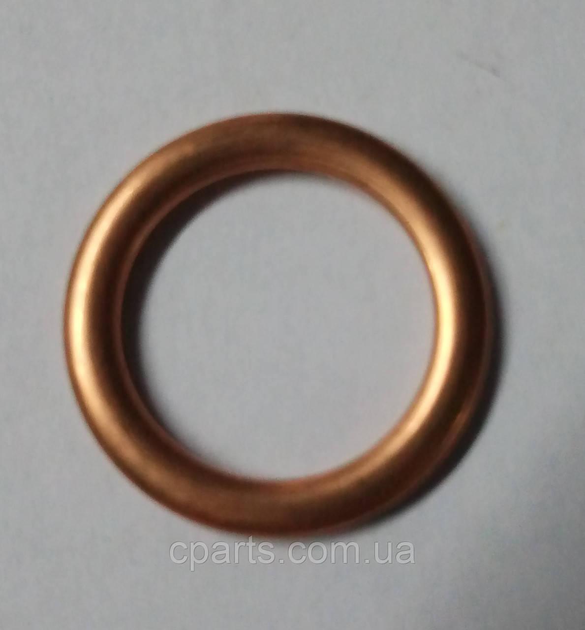Кольцо прокладка масляной пробки Renault Dokker медное (оригинал)