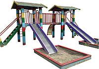 Игровой комплекс Акробат детский деревянный