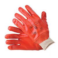 Перчатки нитриловые красные