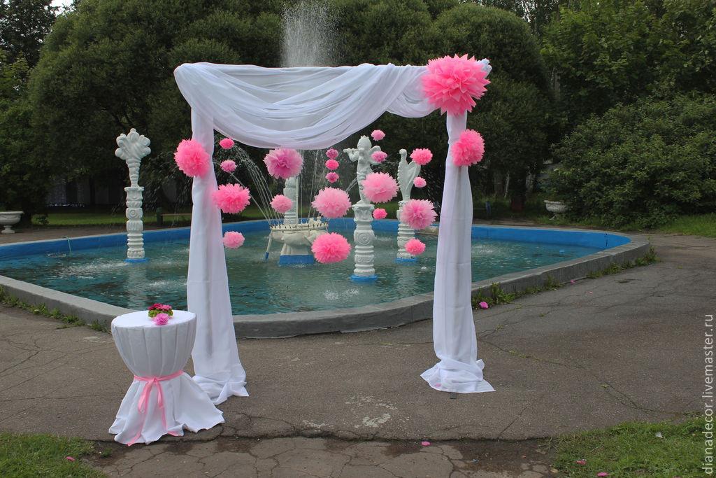 Свадебная арка шаров своими руками 44