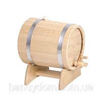 Жбан-бочка для вина и коньяка, 3 л ( нерж)