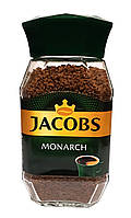 Кофе растворимый Jacobs Monarch 190 г в стеклянной банке (431)