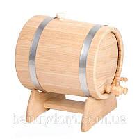 Жбан-бочка для вина и коньяка, 30 л ( нерж)