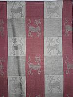 Полотенце 49*70 с.1, ц,85 рис 211 Кошки