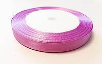 Лента Атласная Фиолетовая ширина 1 см, длина 1 м / 100 м