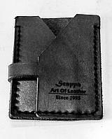 Компактный кошелёк Scappa WM-1 Black