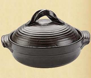 Керамическая кастрюля для открытого огня 1,85л Dekok HR-1080