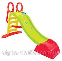 Детская горка слайд Mochtoys + вода 180 см