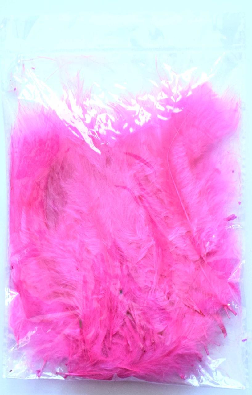 Перья для воздушных шаров. Цвет:Розовый. Вес:10гр.