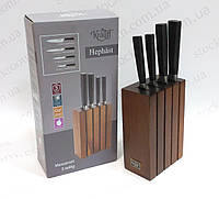 Набор ножей Krauff 29-243-029 с деревянной подставкой, фото 1