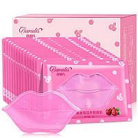 Маска Патч для губ Collagen Lip Mask (розовая) ЯГОДЫ