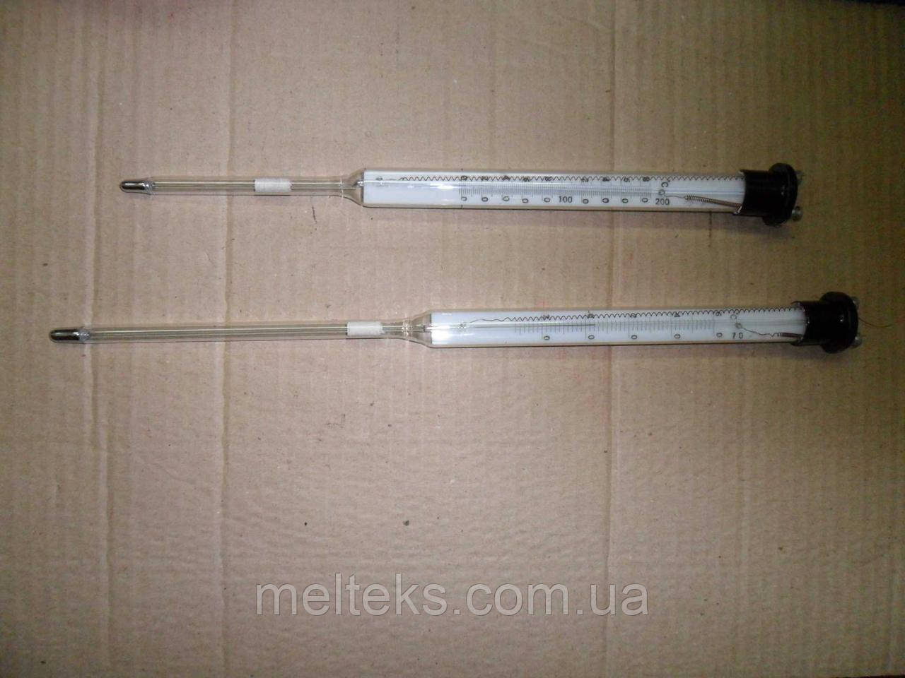 Термометр электроконтактный ТЗК с Фиксированной уставкой (+70 и +200 град.)