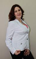 Коттоновый женский пиджак