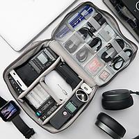 Дорожная сумка-органайзер для переноски гаджетов и аксессуаров