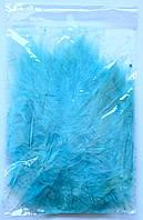 Перья для воздушных шаров. Цвет:Голубой. Вес:10гр.
