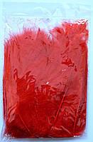 Перья для воздушных шаров. Цвет: Красный. Вес:10гр.