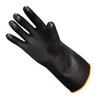 Перчатки черные усиленные