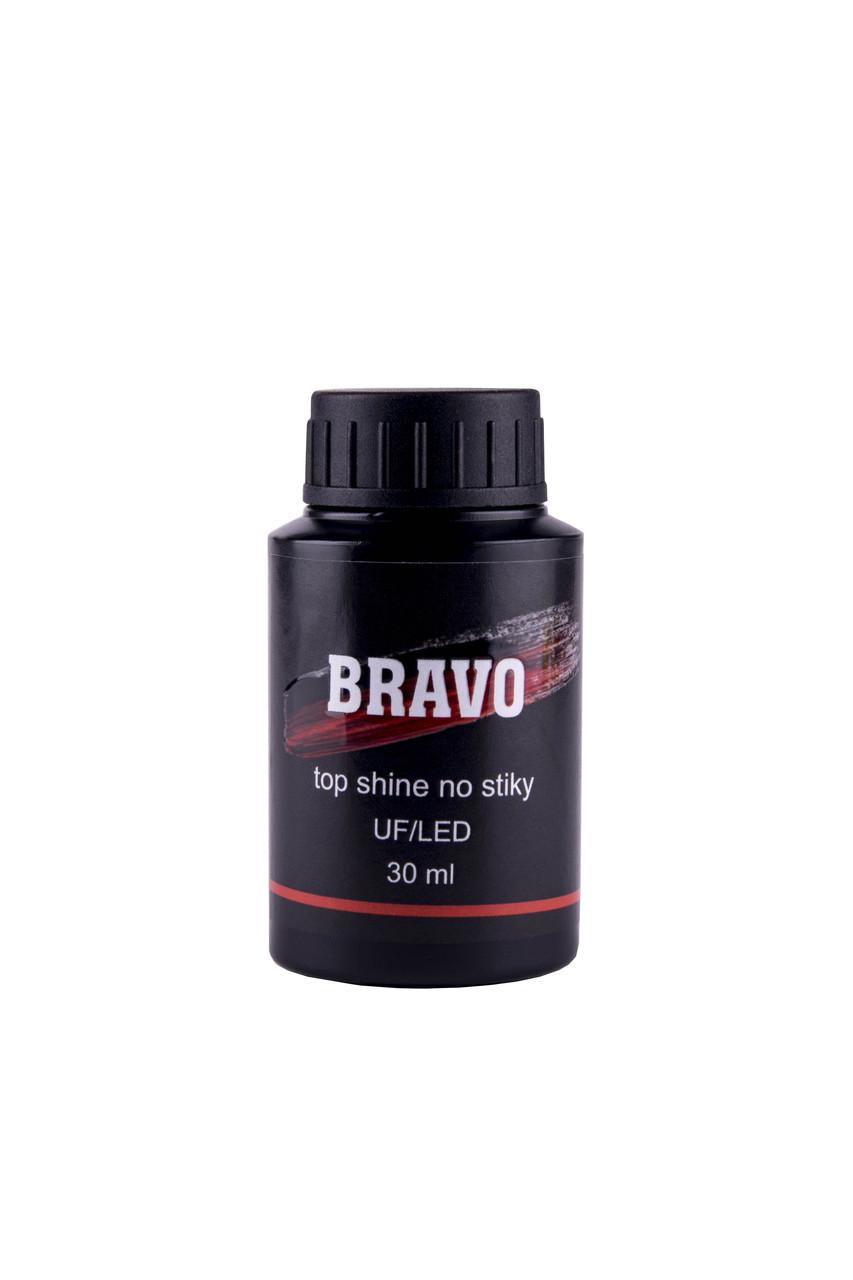 Каучуковое финишное покрытие без липкого слоя BRAVO  30 мл. США