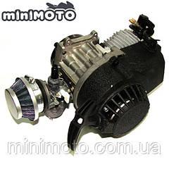 Двигатель 2T 60cc kpl. для минимото, детских мотоциков и квадроциклов, мини кросс, mini ATV 50