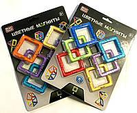 Конструктор магнитный Цветные магниты 6 деталей Play Smart 2431