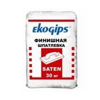 "Шпаклевка ""SatenGips"" ЕкоGips, 30 кг, фото 2"